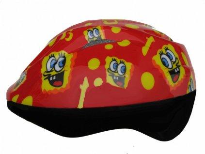 Dětská cyklistická helma Fly sponge - výprodej