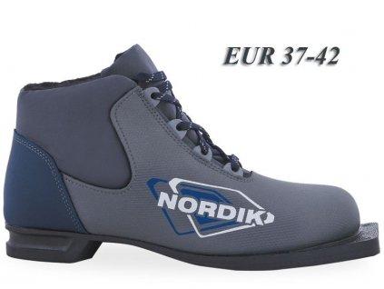 boty na bezky n75 spine nordik tmave seda