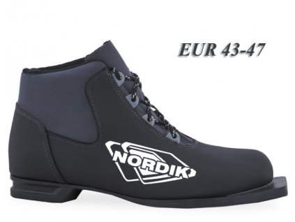 boty na bezky n75 spine nordik cerna