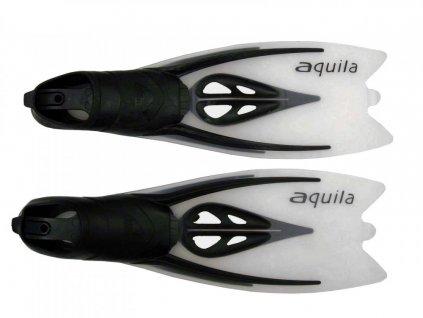 Ploutve Tigullio Aquila 11309, vel. 46-47 stříbrné