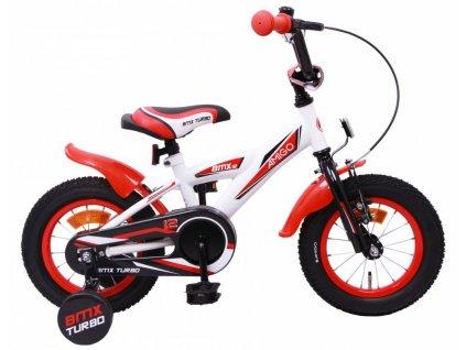 Dětské kolo AMIGO BMX Turbo bílo-červená 12