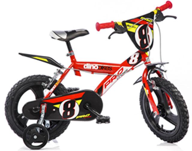 """Acra Dino PRO 143GLN červená 14"""" 2014 dětské kolo"""