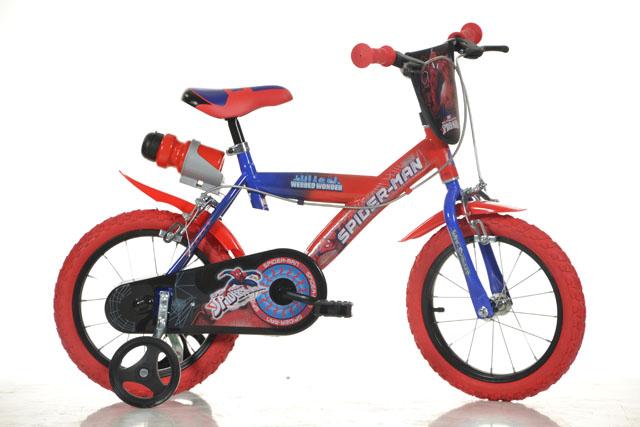 """Acra Dino SPIDERMAN 14"""" 2019 dětské kolo"""