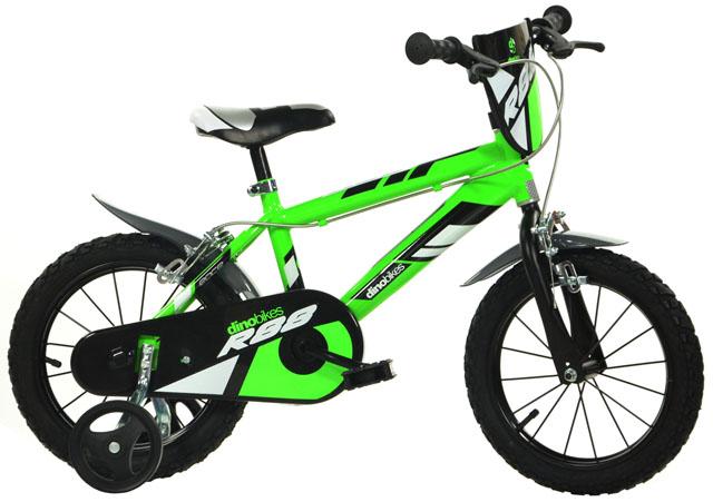 """Acra Dino 416U zelená 16"""" 2017 dětské kolo"""