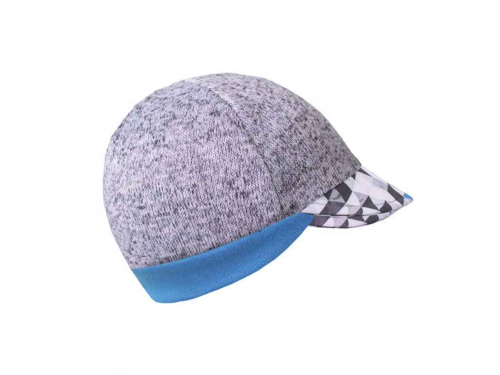 Čepice ze svetroviny s kšiltem Street - chlapecký metricon