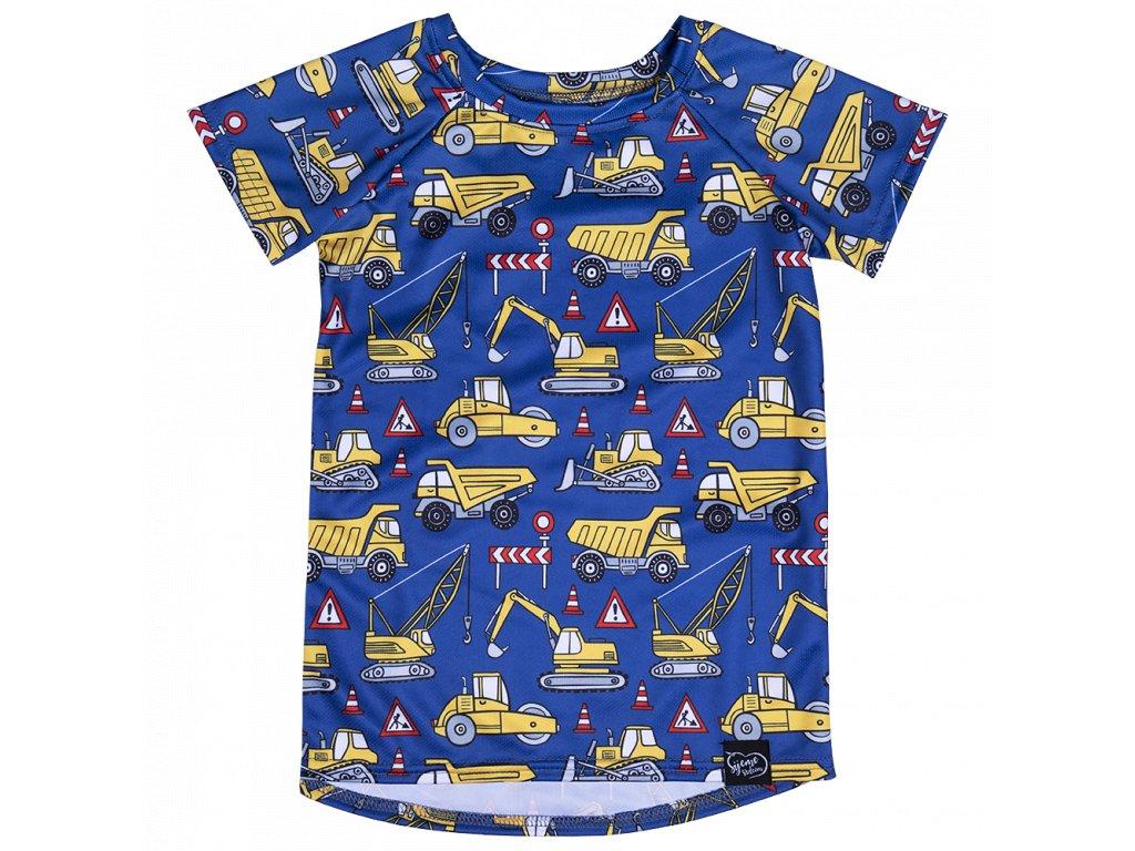 Funkční tričko s tatrami
