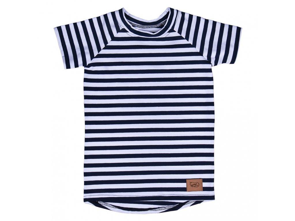 Dětské proužkované tričko