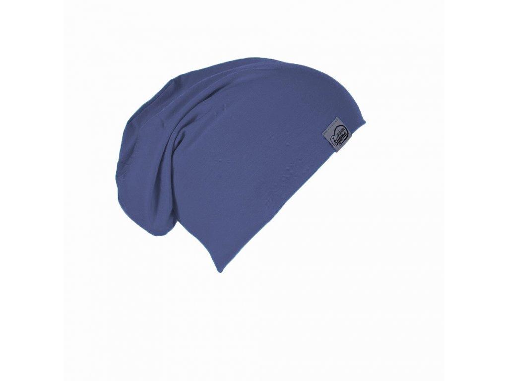 Bambusová džínově modrá čepice