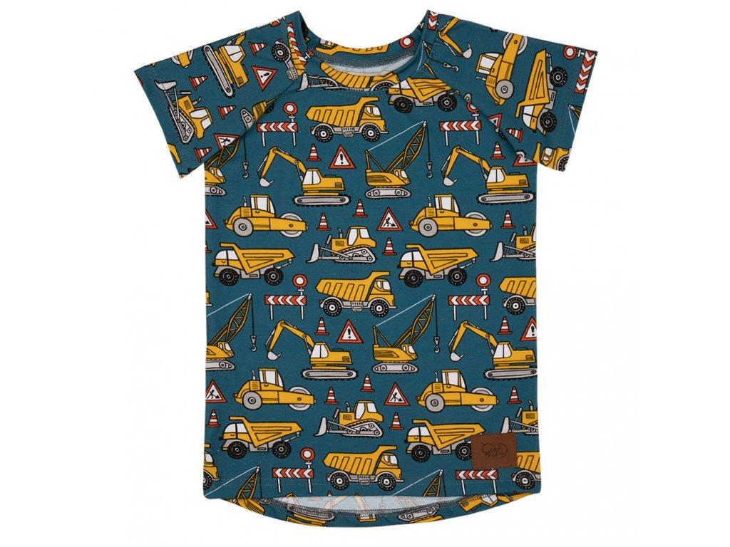 Dětské tričko s tatrami