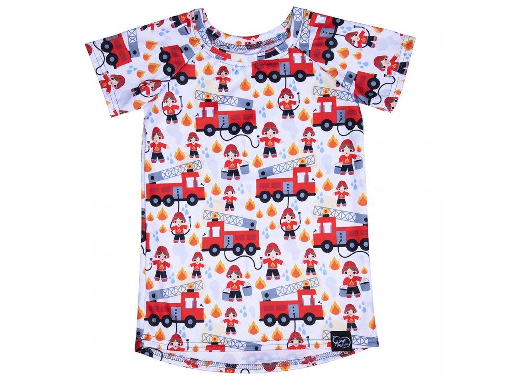Tričko s hasiči