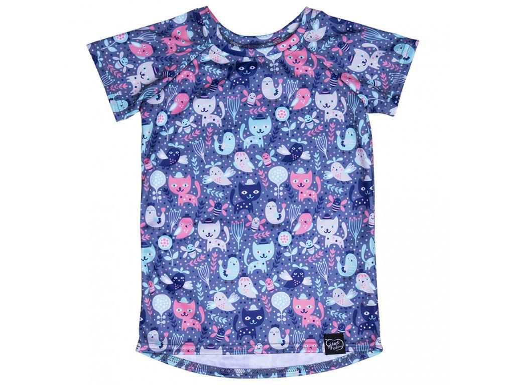 Tričko s kočičkami