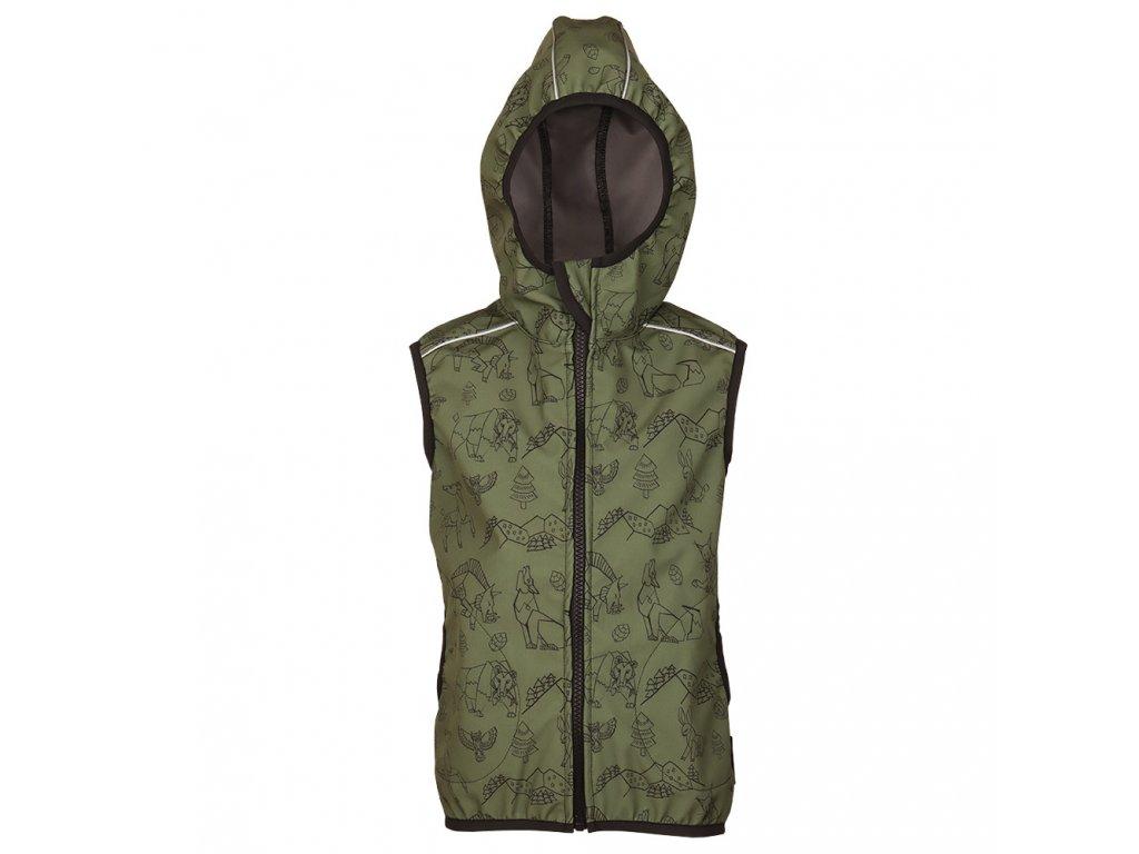 khaki softshell bunda beskydy (1)