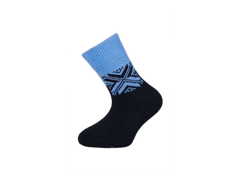 teple ponozky snehulka (1)