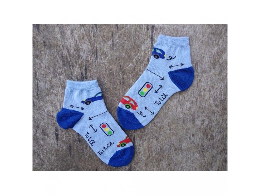 kotnickove ponozky auticko