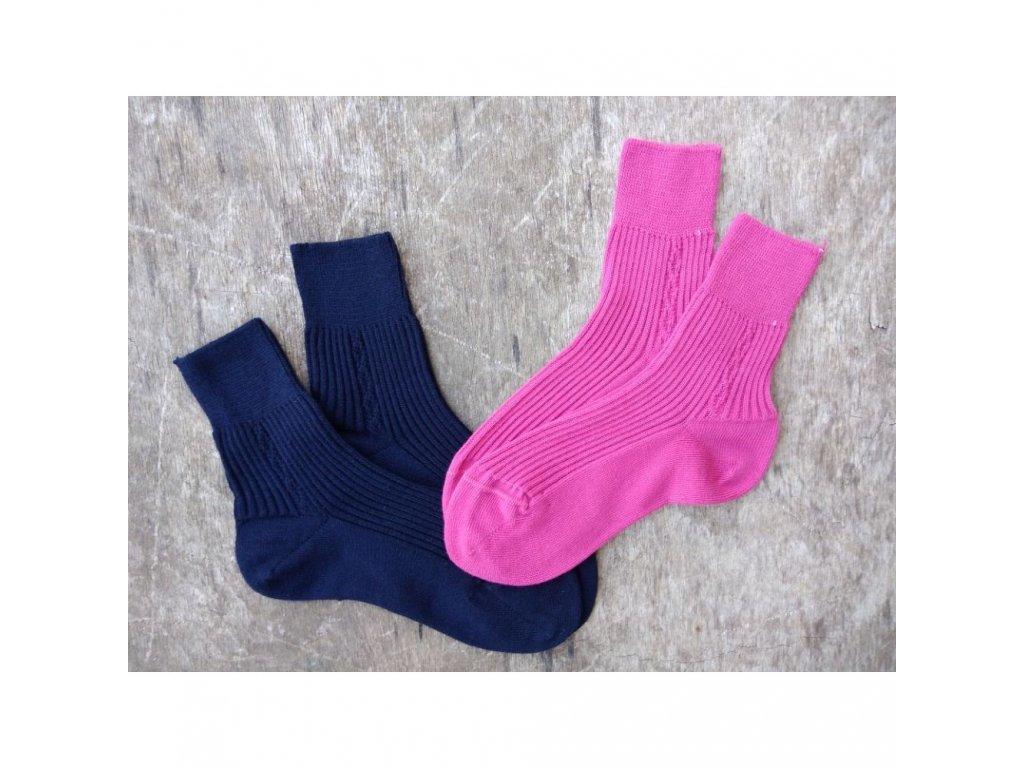 Ponožky ze 100% bavlny Beník