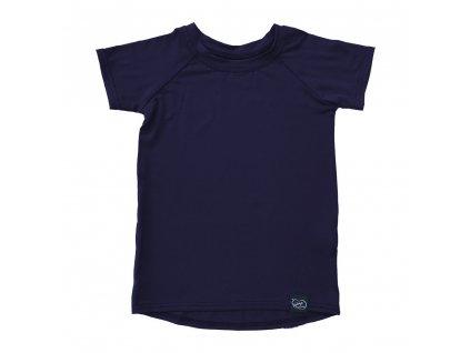 Bambusové tričko - navy