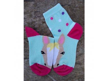 detske ponozky konik