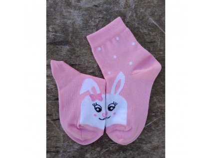 detske ponozky kralik (1)