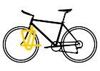 Vpředu na kole