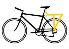 Vzadu na kole