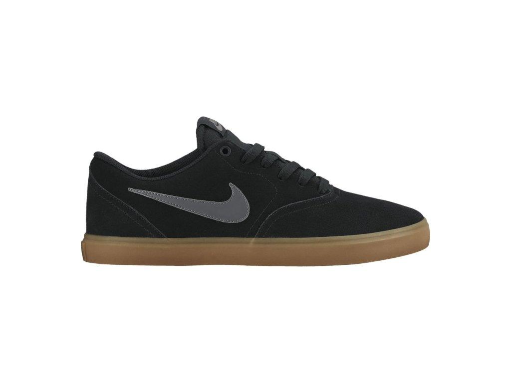 ab35439258 Pánská obuv Nike SB CHECK SOLAR 843895-003 černá - SPORTDERFL