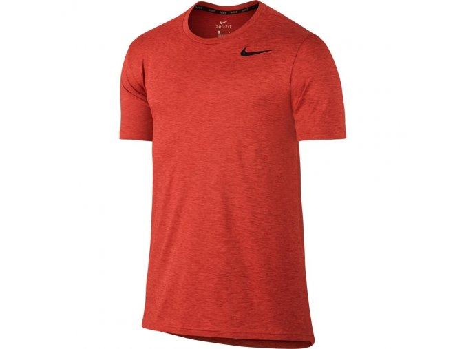 Pánské triko NIKE BRTHE HYPER SS 832835 oranžové