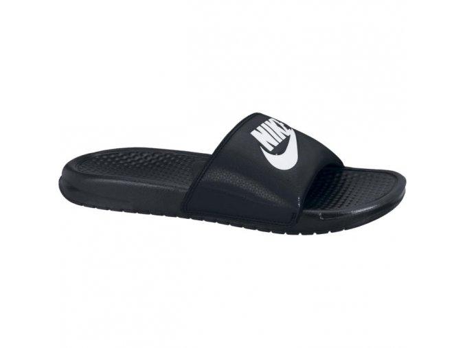 Pánské pantofle NIKE BENASSI JDI 343880 090 černé/bílé