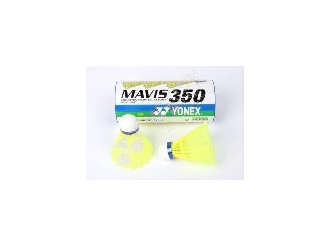 Yonex  mavis 350 1 ks medium žluté (modrá rychlost)