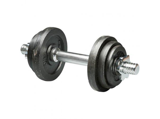 Jednoruční činka nakládací jednoruční 1x 10 kg průměr 30