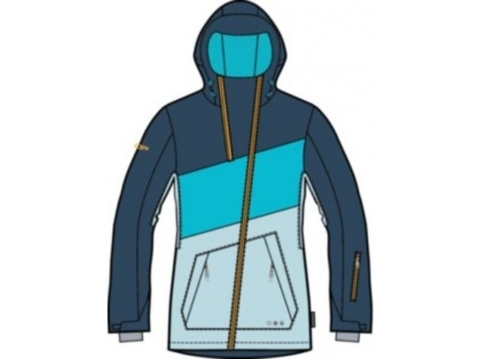Dámská lyžařská bunda Alpine Pro Pasqua vel. L