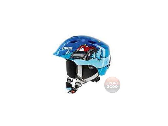 Dětská lyžařská helma Airwing 2 modrá snowman 46-50