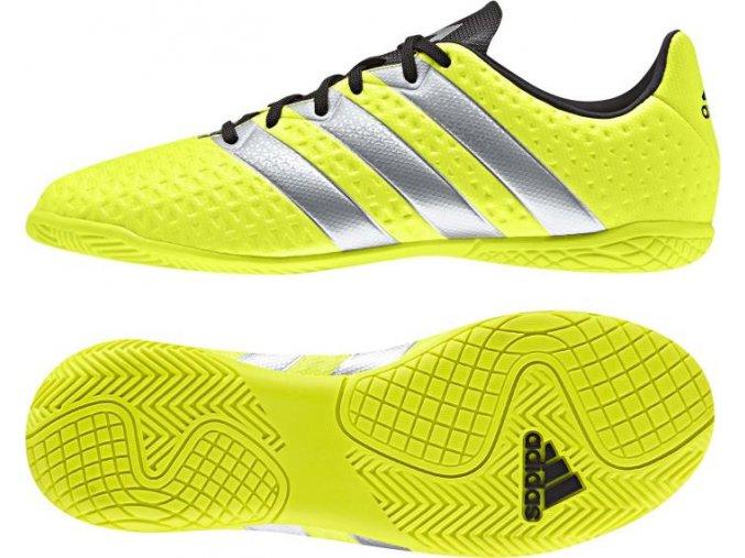 Juniorská sálová obuv Adidas Ace 16.4 IN BA8608