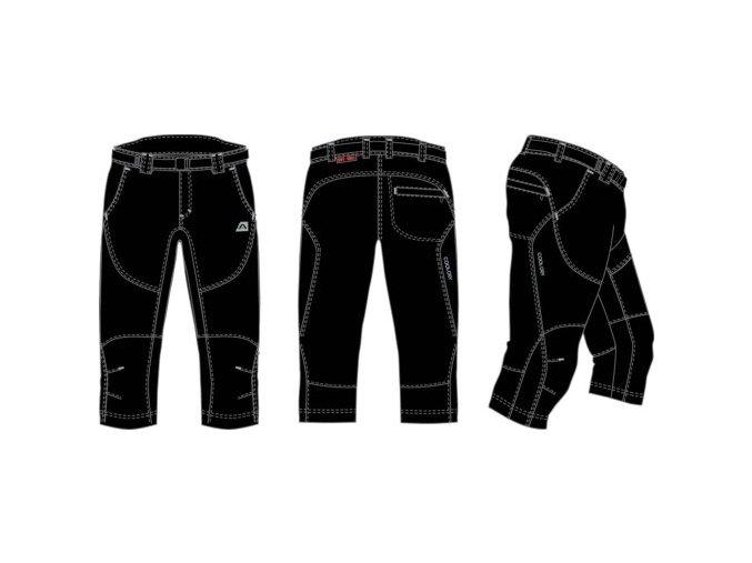 Pánské 3/4 kalhoty Alpine Pro Lofredo mssc014