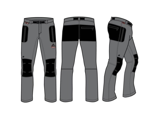 Pánské kalhoty Alpine Pro Carb mpac002779