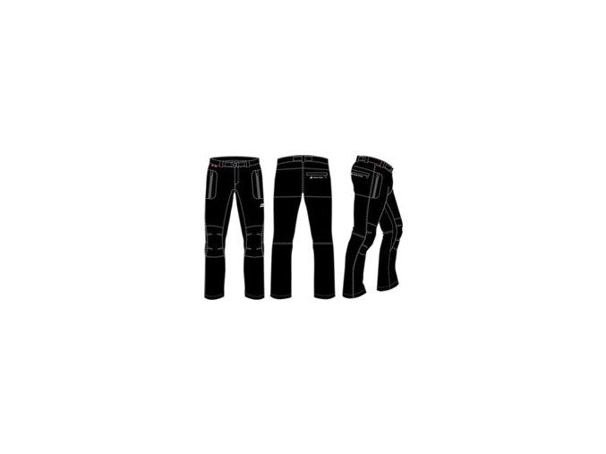 Pánské kalhoty Alpine Pro Carb mpaf002990