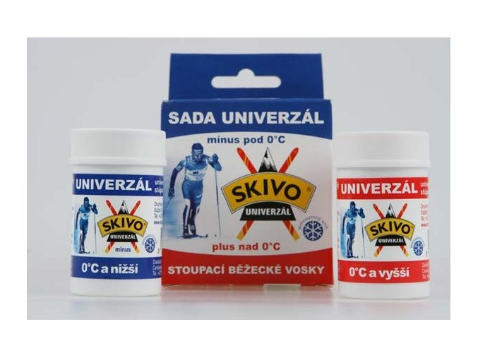 Souprava  vosků skivo universal