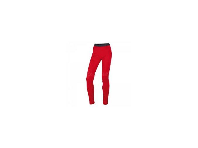 Dámské funkční kalhoty Husky Merino 100 červená