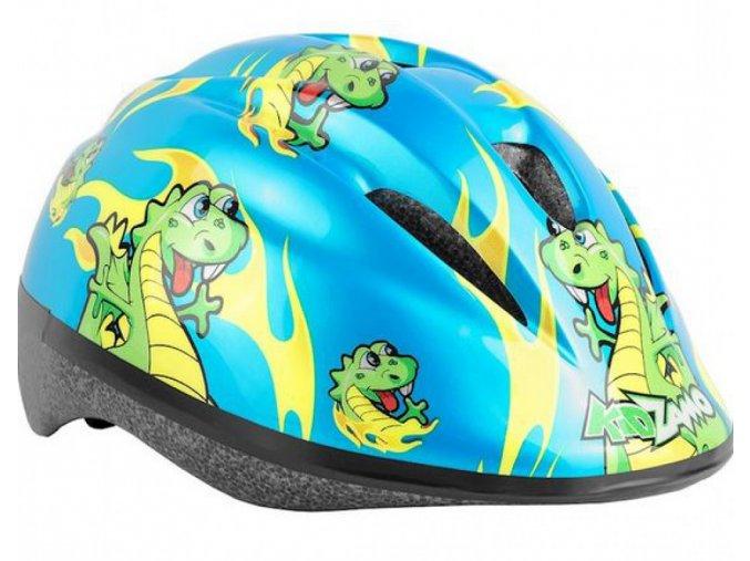 Dětská helma Kidzamo flamy rex