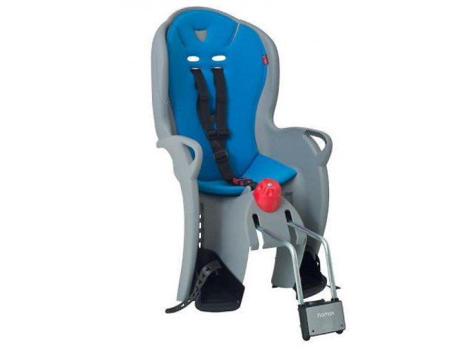 Dětská sedačka zadni Hamax Sleepy šedá/modrá