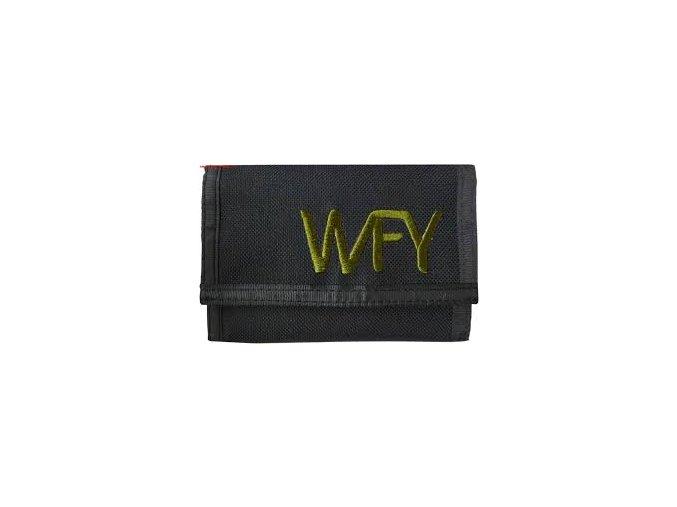 peněženka 12  WFY černá zelená