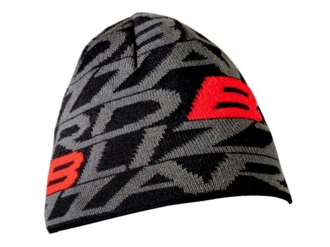 Zimní čepice Blizzard Dragon Cap black/red