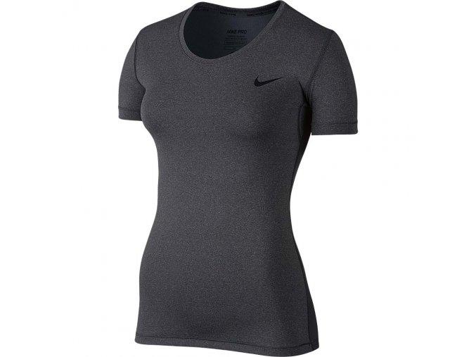 Dámské Fitness tričko Nike PRO COOL šedá