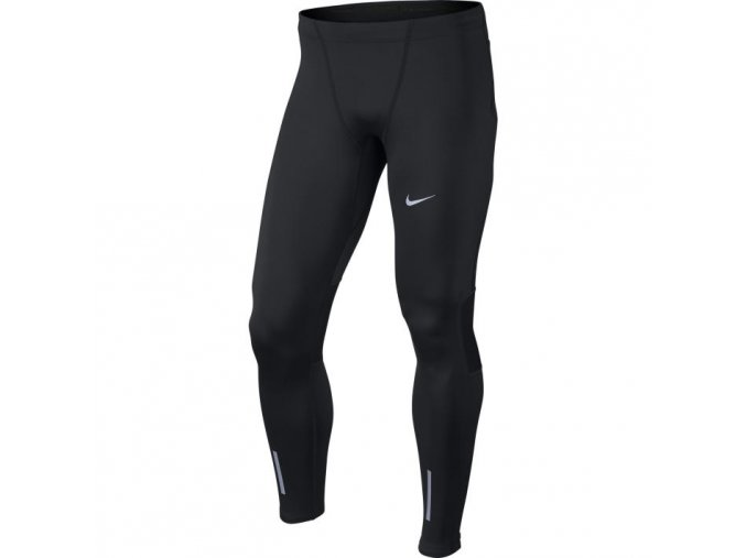 Pánské běžecké kalhoty Nike tight černá