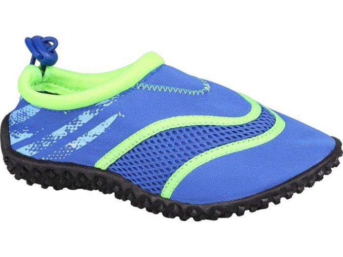 Dětská neoprenová obuv Stuf surf modrá/limetová