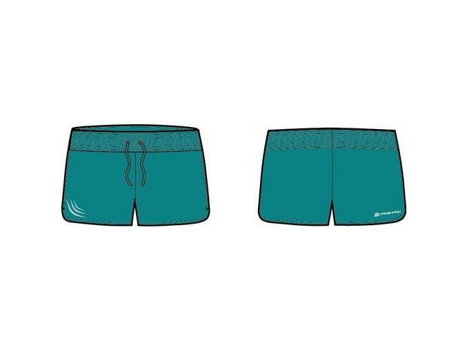 Dámské šortky Alpine pro Renate LPAJ015598