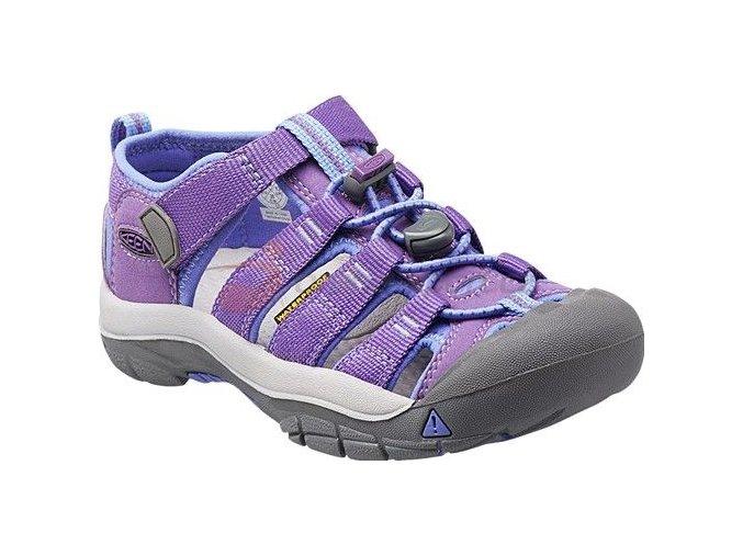 Dětské sandále Keen Newport H2 Jr purple heart/periwinkle