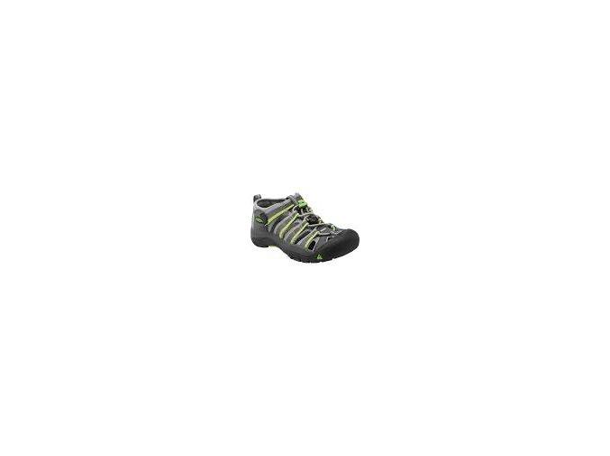 Dětské sandále Keen Newport H2 Jr racer gray