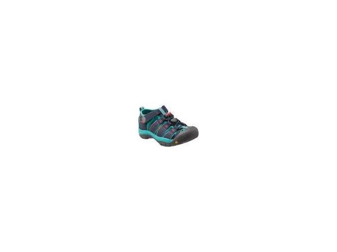 Dětské sandále Keen Newport H2 Jr midnight navy/baltic