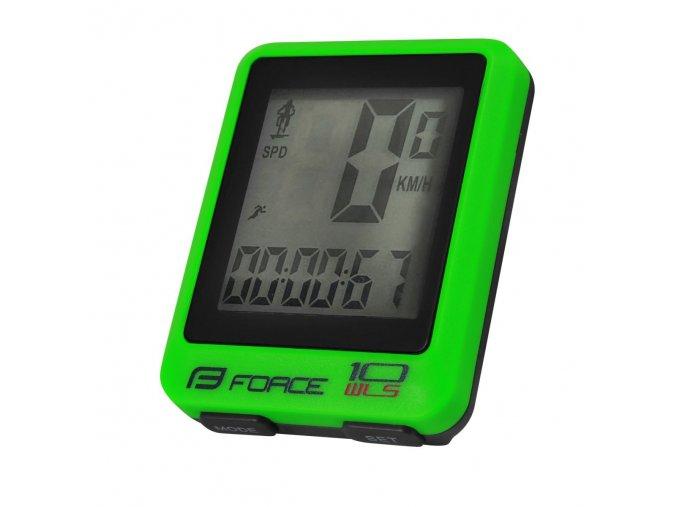 Computer Force WLS 10 funkcí bezdrát fluo zelený 39123
