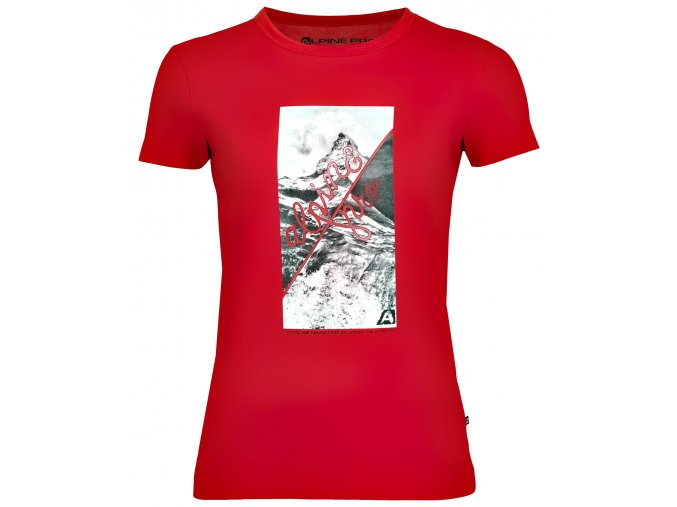 Dámské triko Alpine pro Sasha LTSK223475PB